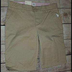 Khaki Uniform Bermuda Shorts
